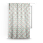 Monogram Sheer Curtains (Personalized)