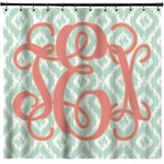 Monogram Shower Curtain (Personalized)