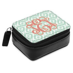 Monogram Small Leatherette Travel Pill Case (Personalized)