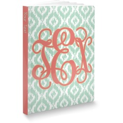 "Monogram Softbound Notebook - 5.75"" x 8"" (Personalized)"