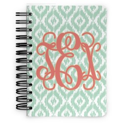 Monogram Spiral Bound Notebook - 5x7 (Personalized)