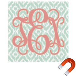 "Monogram Square Car Magnet - 6"" (Personalized)"