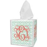Monogram Tissue Box Cover (Personalized)
