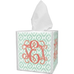Monogram Tissue Box Cover (Personalized)