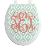 Monogram Toilet Seat Decal (Personalized)