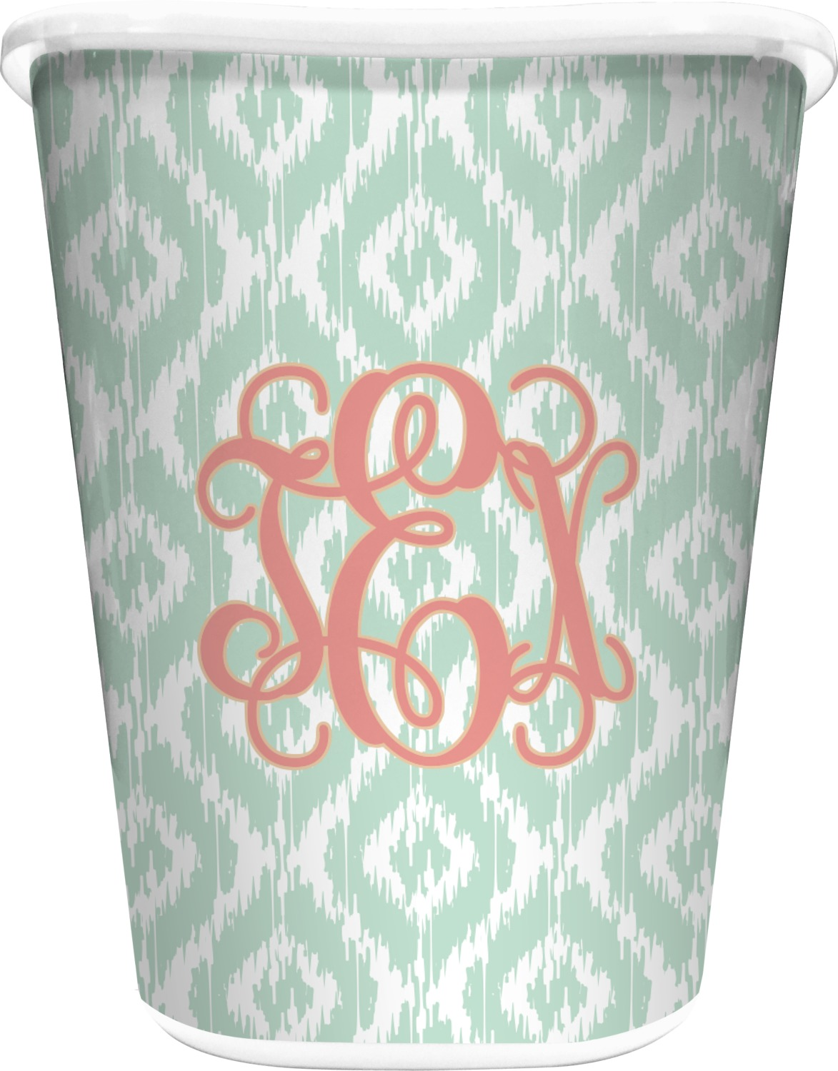 Monogram Waste Basket Personalized You Customize It