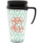 Monogram Travel Mug with Handle (Personalized)