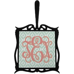 Monogram Trivet with Handle (Personalized)