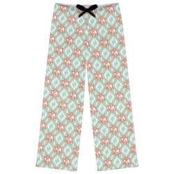 Monogram Womens Pajama Pants (Personalized)