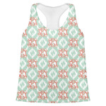 Monogram Womens Racerback Tank Top (Personalized)