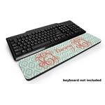 Monogram Keyboard Wrist Rest (Personalized)
