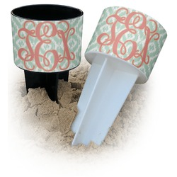 Monogram Beach Spiker Drink Holder (Personalized)