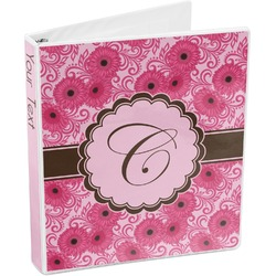 Gerbera Daisy 3-Ring Binder (Personalized)