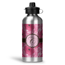 Gerbera Daisy Water Bottle - Aluminum - 20 oz (Personalized)