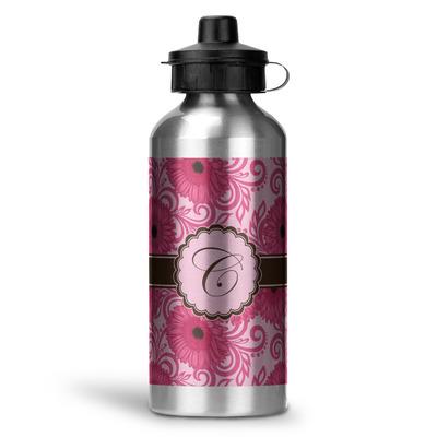 Gerbera Daisy Water Bottle - Aluminum - 20 oz (Personalized)