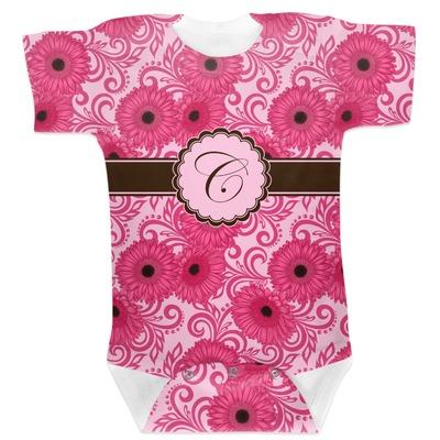 Gerbera Daisy Baby Bodysuit (Personalized)