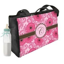 Gerbera Daisy Diaper Bag (Personalized)