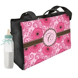Gerbera Daisy Diaper Bag (Personalized)