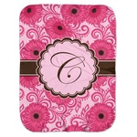 Gerbera Daisy Baby Swaddling Blanket (Personalized)