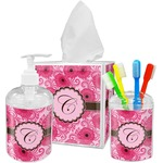 Gerbera Daisy Bathroom Accessories Set (Personalized)