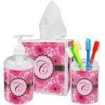 Gerbera Daisy Bathroom Accessories Set (Personalized)