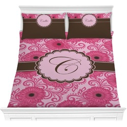 Gerbera Daisy Comforter Set (Personalized)
