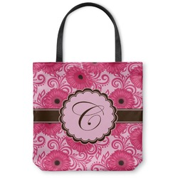 Gerbera Daisy Canvas Tote Bag (Personalized)