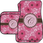 Gerbera Daisy Car Floor Mats (Personalized)