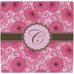 Gerbera Daisy Ceramic Tile Hot Pad (Personalized)