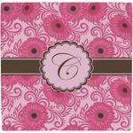 Gerbera Daisy Ceramic Tile Hot Pad (Personalized)