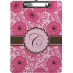 Gerbera Daisy Clipboard (Personalized)
