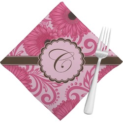 Gerbera Daisy Cloth Napkins (Set of 4) (Personalized)