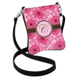 Gerbera Daisy Cross Body Bag - 2 Sizes (Personalized)