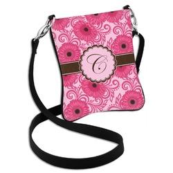 Gerbera Daisy Cross Body Bag - 2 Sizes (Personalized)