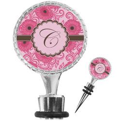 Gerbera Daisy Wine Bottle Stopper (Personalized)