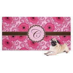 Gerbera Daisy Pet Towel (Personalized)