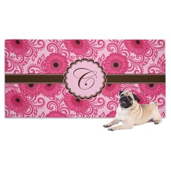 Gerbera Daisy Pet Towel (Personalized)