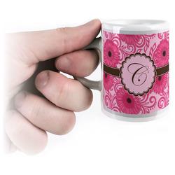 Gerbera Daisy Espresso Mug - 3 oz (Personalized)