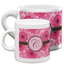 Gerbera Daisy Espresso Cups (Personalized)