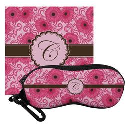 Gerbera Daisy Eyeglass Case & Cloth (Personalized)