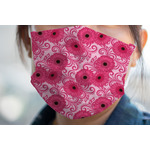 Gerbera Daisy Face Mask Cover (Personalized)