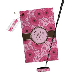 Gerbera Daisy Golf Towel Gift Set (Personalized)