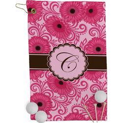 Gerbera Daisy Golf Towel - Full Print (Personalized)