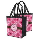 Gerbera Daisy Grocery Bag (Personalized)