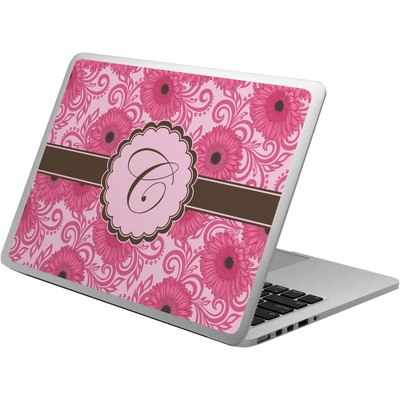 Gerbera Daisy Laptop Skin - Custom Sized (Personalized)