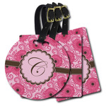 Gerbera Daisy Plastic Luggage Tags (Personalized)