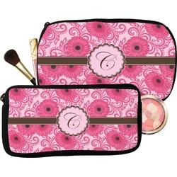Gerbera Daisy Makeup / Cosmetic Bag (Personalized)