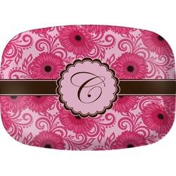 Gerbera Daisy Melamine Platter (Personalized)
