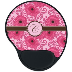 Gerbera Daisy Mouse Pad with Wrist Support