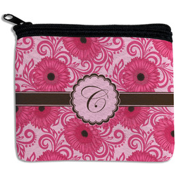 Gerbera Daisy Rectangular Coin Purse (Personalized)